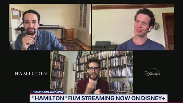 Lin-Manuel Miranda, Thomas Kail talk Hamilton on Disney Plus