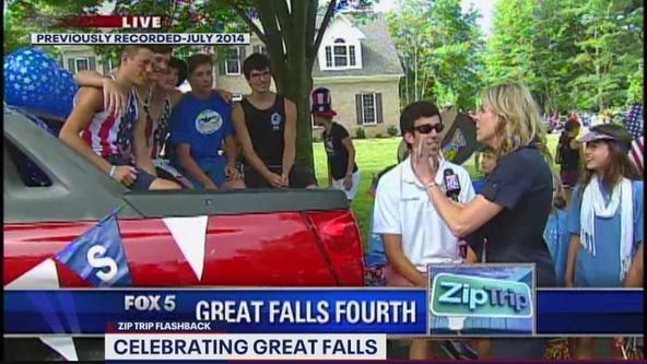 FOX 5 Zip Trip Flashback: A Great Falls Fourth!