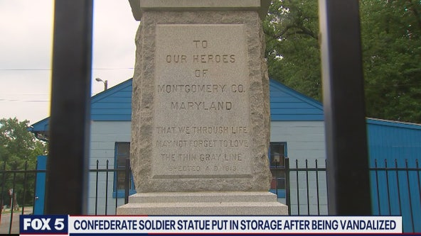White's Ferry in Montgomery County removes Confederate statue