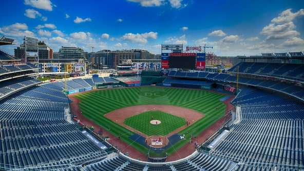 Washington Nationals games can resume with no fans – for now
