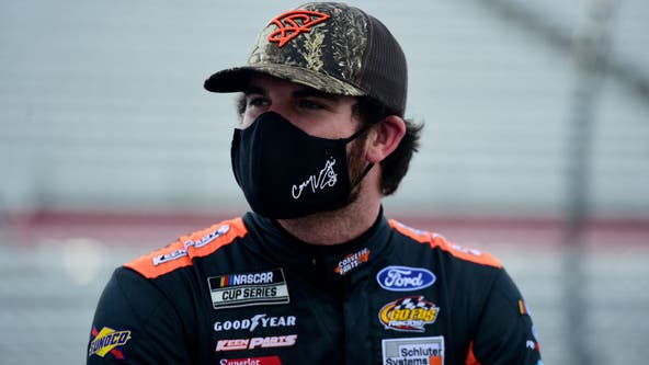 NASCAR's Corey LaJoie to run 'Trump 2020' paint scheme at Brickyard 400