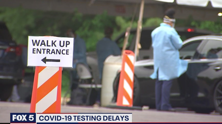 Growing concerns about COVID-19 testing delays nationwide