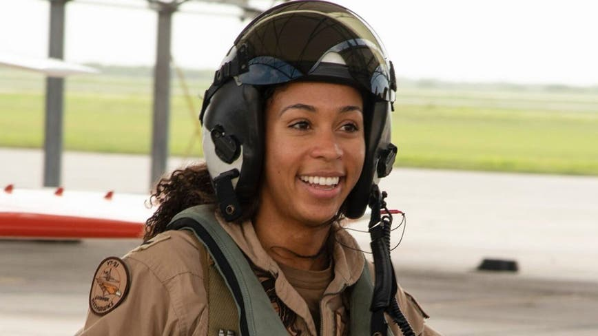 Navy's first Black female Tactical Aircraft pilot hails from Northern Virginia