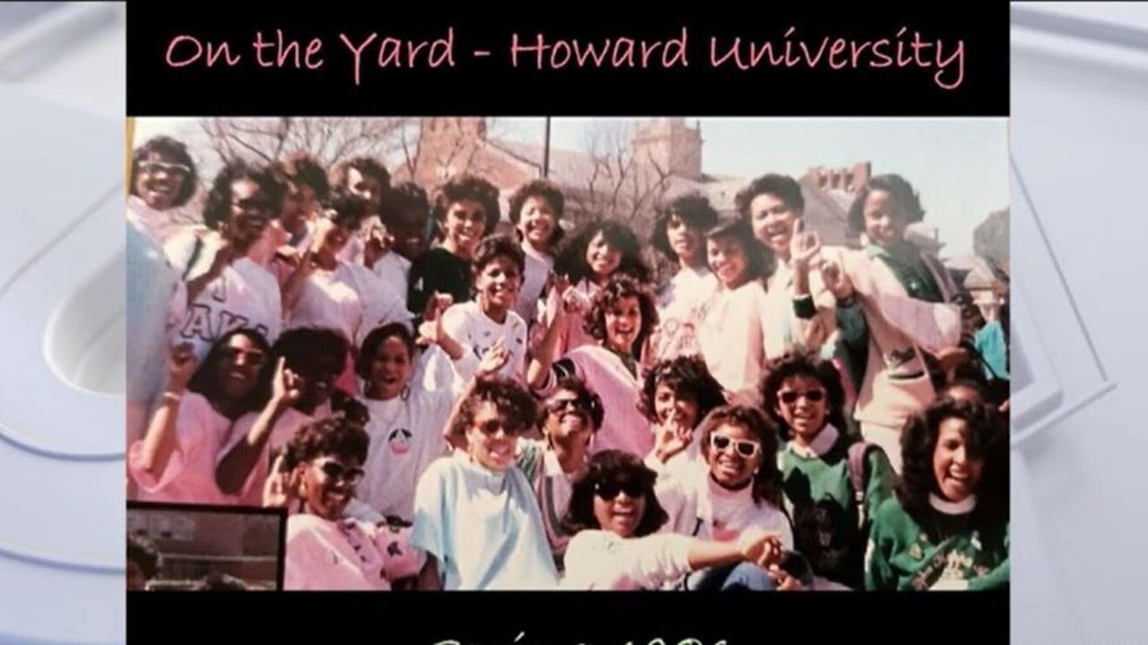 Alpha Kappa Alpha sorority line sisters coming out in ...