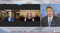 Reactions to new Democratic ticket and delaying college sports
