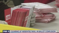 Clearing up absentee/mail-in ballot confusion