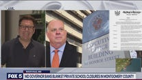 Governor bans blanket private school closures in Montgomery County
