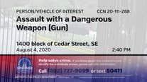 DC police seek gunman who fired shots on Southeast street