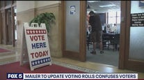 Mailer to update voting rolls confuses voters