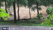 Heavy rain brings familiar concerns in Ellicott City