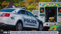 Proposed changes for the Fredericksburg Police Department
