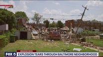 Explosion tears through Baltimore neighborhood