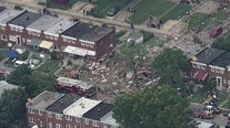 Aerial Footage Shows Aftermath of Baltimore Explosion