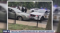 Two DC women removed by Secret Service