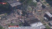 1 dead in Baltimore explosion