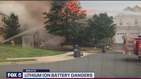 Faulty lithium-ion battery to blame for Loudoun County house fire, officials say
