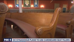 DC synagogue plans to use cardboard seat fillers during Jewish High Holidays