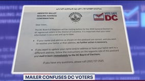 DC mailer sent to voters causing confusion, concern