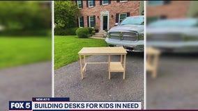 Gaithersburg mom organizes effort to build free desks for kids in need