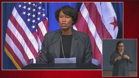 DC Mayor Muriel Bowser says violence will not be tolerated after weekend of intense protests