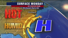 FOX 5 Weather forecast for Monday, August 10