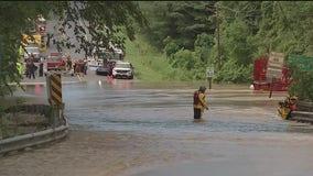 Hughesville high water rescue
