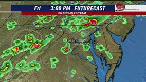 More storms Friday; Flash Flood Watch in place until late tonight