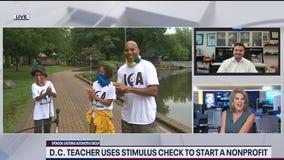 DC teacher gives back by taking inner city children on fishing trips