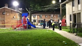 8-year-old girl grazed with bullet on Southeast DC playground, police say