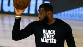 LeBron James wears knockoff MAGA hat before game: 'Make America Arrest The Cops Who Killed Breonna Taylor'