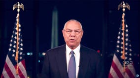 Colin Powell says Joe Biden 'will stand with our friends and stand up to our adversaries' in DNC speech