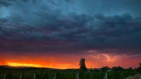 Dramatic photos: Rare lightning show streaks across Northern California skies