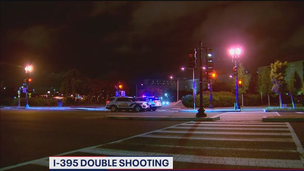 2 shot while driving on Interstate 395 in DC, police say