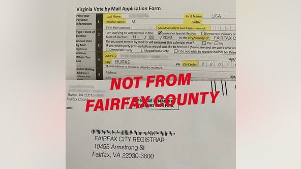 Virginia election officials alerting voters of potentially misleading mailing