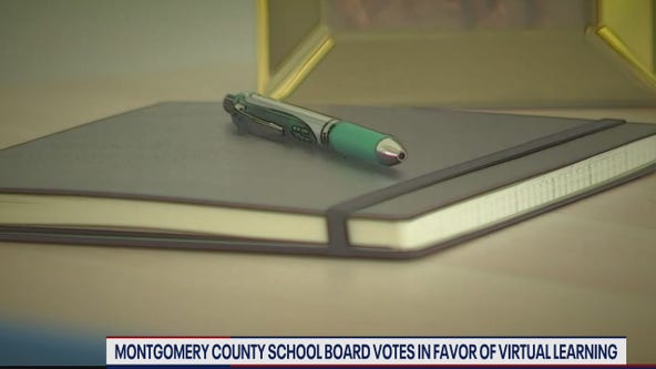 Montgomery County School Board votes in favor of virtual start to school year