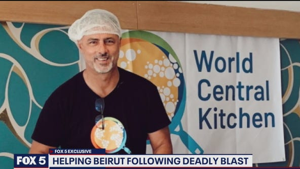 DC restaurant chain owner assisting with relief efforts in Beirut following deadly blast
