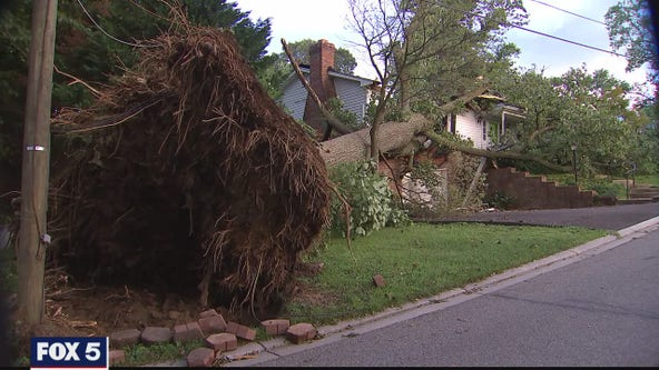 Tropical Storm Isaias brought destructive tornadoes, flooding and power outages to parts of Maryland