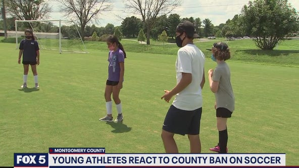 Montgomery County soccer players confront possibility of fall without soccer