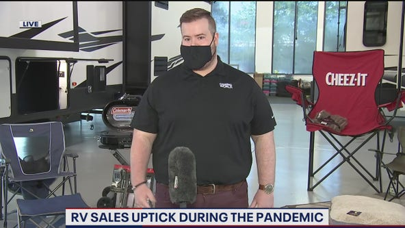 RV sales uptick during COVID-19 pandemic