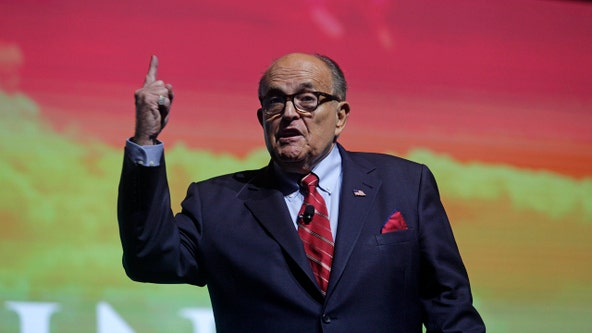 Rudy Giuliani caught in hotel bedroom scene in new 'Borat' film