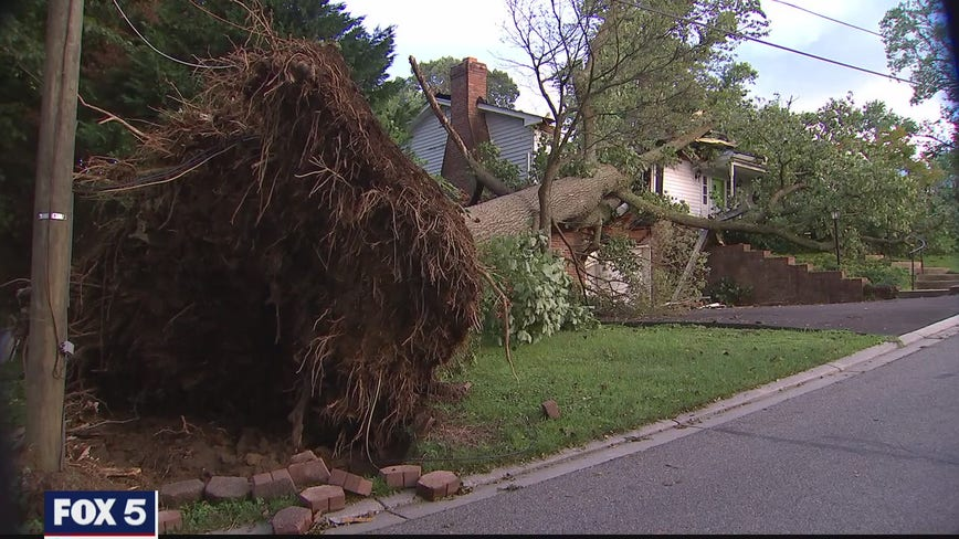 NWS says 3 tornadoes touched down in Southern Maryland after Isaias brought heavy rain, flooding