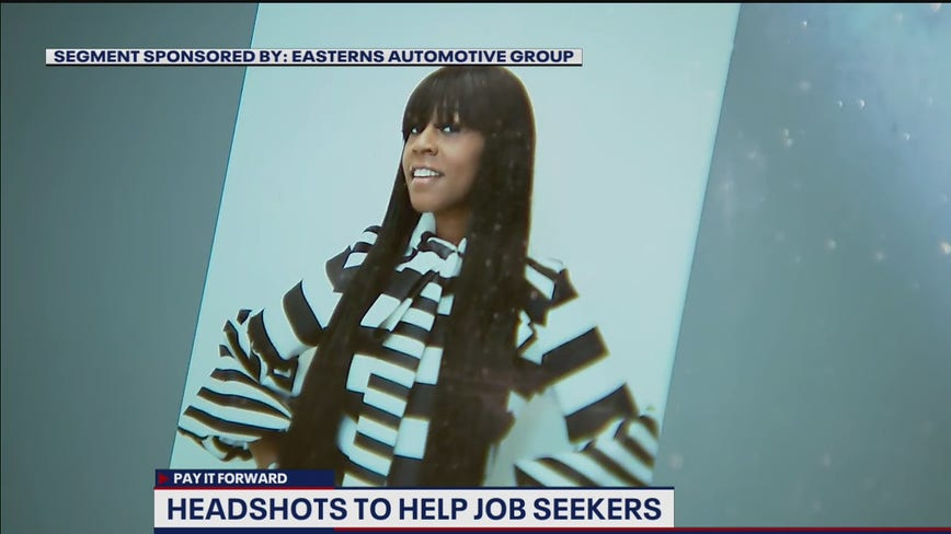 DMV photographer takes free headshots for those unemployed due to COVID-19