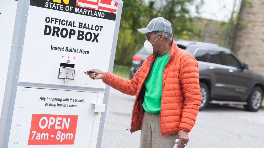 Maryland elections officials address ballot drop box security