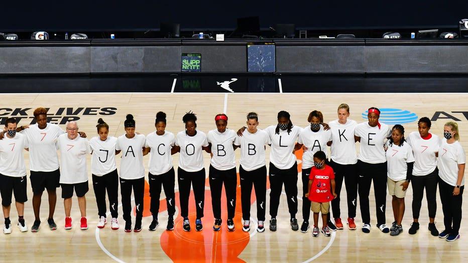 344af89b-Washington Mystics v Atlanta Dream