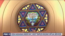 Rosh Hashanah underway, most temples holding virtual services
