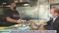 Jordan's Bistro shuts down to help those in need