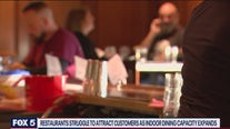 Restaurants struggle to attract customers as indoor dining capacity expands