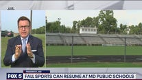 Falls sports can resume at Maryland public schools