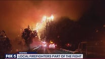 Local firefighters part of the fight