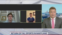 Return of fall sports in Maryland